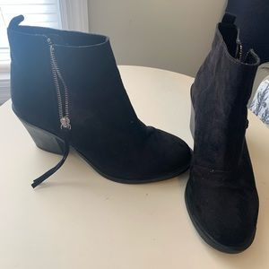 Black H&M booties